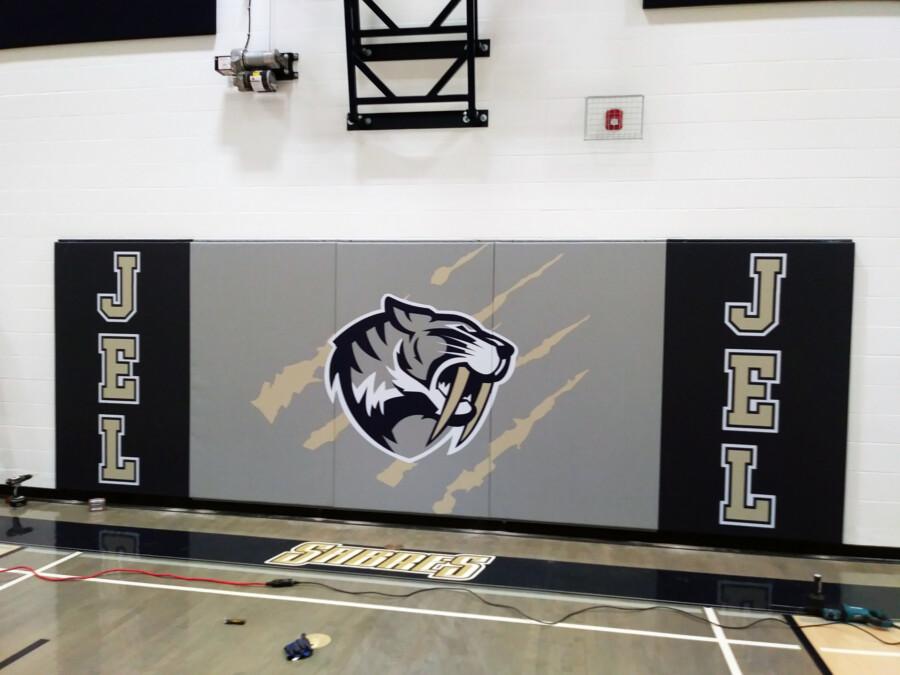 basketball court wall padding