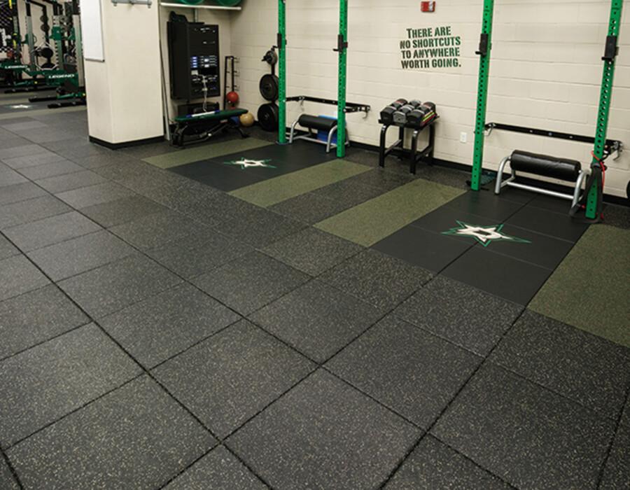 AktivPro Tile Rubber Flooring