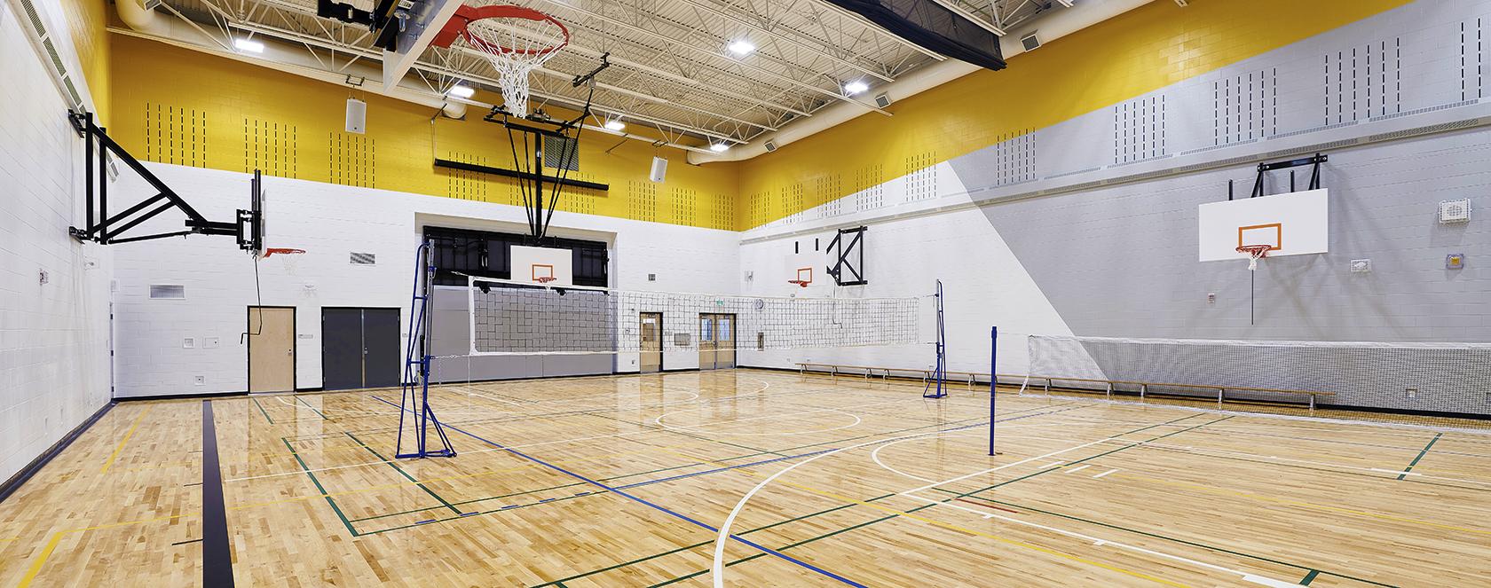 gymnasium court