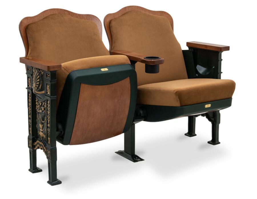 Wood Back & Historic Seating Options