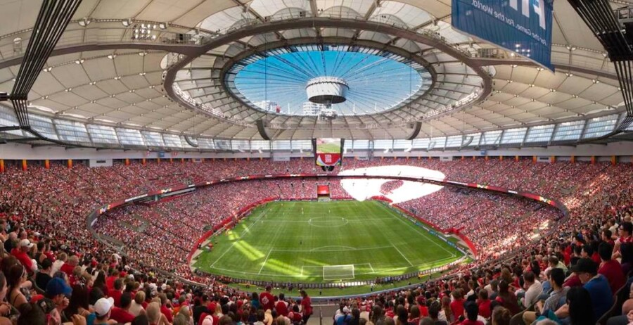 bc place stadium 2015 women's world cup