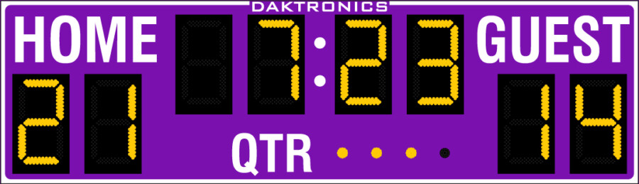 Daktronics <br> FB-824