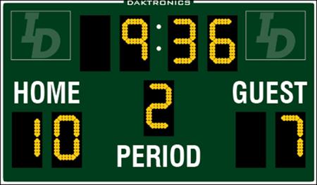 Daktronics <br> MS-2025